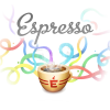 Logo for Espresso app, the Web Editor