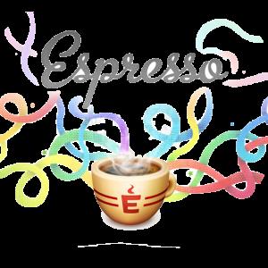 Logo for Espresso app, the Web Editor